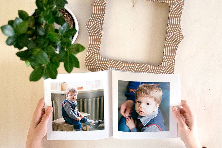 Fotolibro con cornice Wally Book